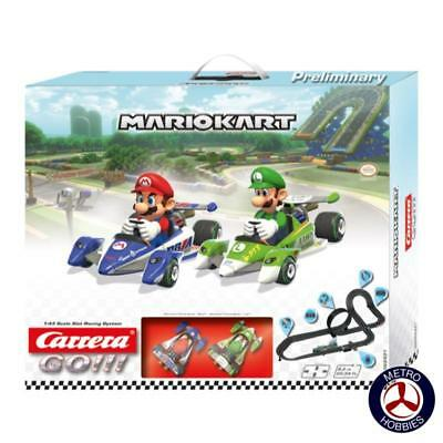 Carrera GO!!! Mario Kart Slot Car Set 62431 Brand New