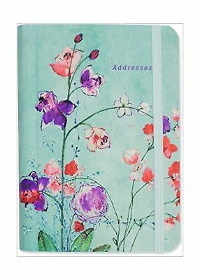 Fuchsia Blooms Address Book