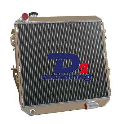 4ROW Aluminum Radiator For Toyota Hilux LN106 LN107 LN111 2.8L 3L Turbo MT 88-97