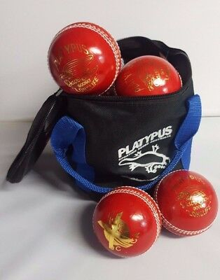 *BARGAIN* Platypus Cricket Balls X outs Australian Leather + Free AU delivery