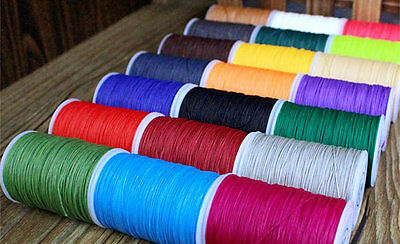 A Spool of 0.5mm Fine Leather Hand Sewing Thread, Total Length 110 m(120 Yards)