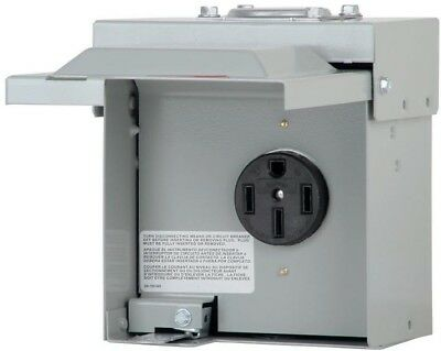 Eaton 50 Amp Heavy Duty Power Outlet Box RV Construction