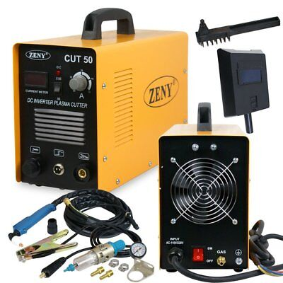 Plasma Cutter CUT50 Digital Inverter 110/220V Dual Voltage Plasma Cutter Zeny JJ