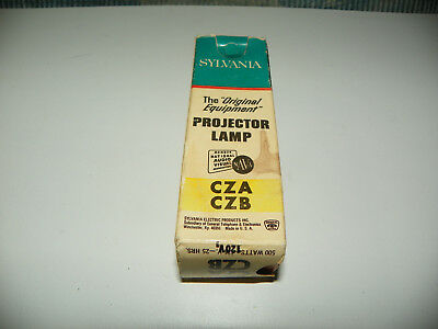 CZA / CZB Projector Projection Lamp Bulb 120V 500W  New Old Stock