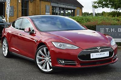 2015 Tesla Model S P90D Electric red Automatic