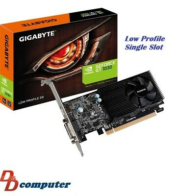 Gigabyte nVidia GeForce GT1030 2GB Gaming Video Card Low Profile Single Slot