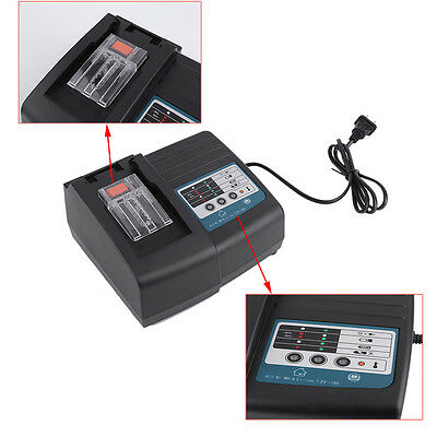 (Qty 1) NEW Makita DC18RC 18V Volt Lithium-Ion Rapid cordless Battery Charger SE