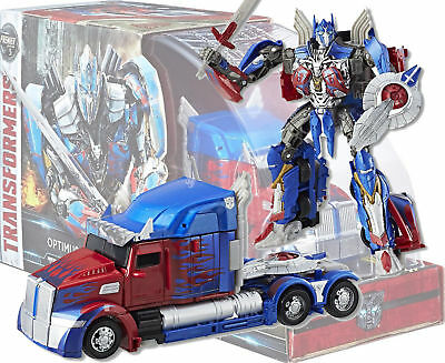 ! AU Hasbro MV5 Last Knight 2017 SDCC TRANSFORMERS OPTIMUS PRIME Voyager new