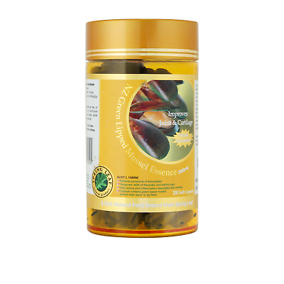 Spring Leaf Green Lipped Mussel 2000mg