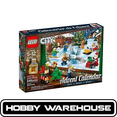 LEGO 60155 City 2017 Advent Calendar (BRAND NEW SEALED)