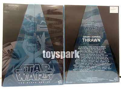 "SDCC 2017 STAR WARS The Black Series 6"" GRAND ADMIRAL THRAWN Exclusive figure"
