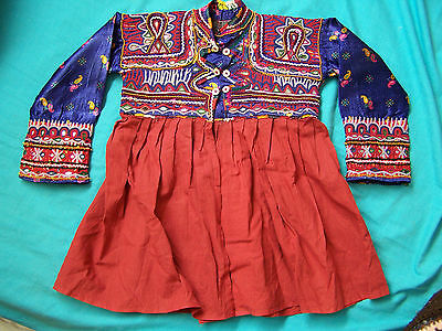 Original vintage handmade embroidered Gujarat/Rajasthani childs jacket