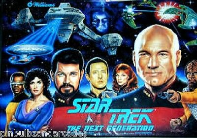 Star Trek Next Generation Complete LED Lighting Kit DELUXE SUPER BRIGHT LED STNG