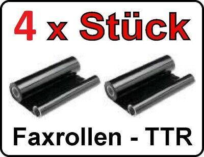 4 Pieces Fax Roll for Sagem Fax 312 320 330 350 390 395/Ttr816 Ttr-815 with Chip
