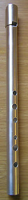 Shearwater Soprano 'D' Irish original penny tin whistle Celtic handmade