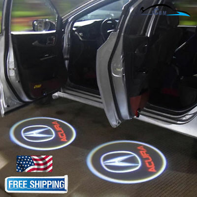 Ghost Shadow LED Projector Lights Door Logo Laser for Acura TLX RLX MDX TL ZDX