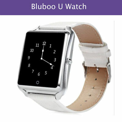 Original Bluboo U Watch Smart Watch Waterproof for Android iOS-White