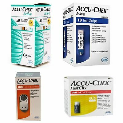 Accu-Chek  Mobile Active Avivia FastClix  Full Range Available
