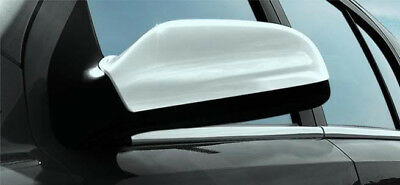 Chrome Wing Mirror Trim Set Covers To Fit Vauxhall / Opel Astra H (2004-10)