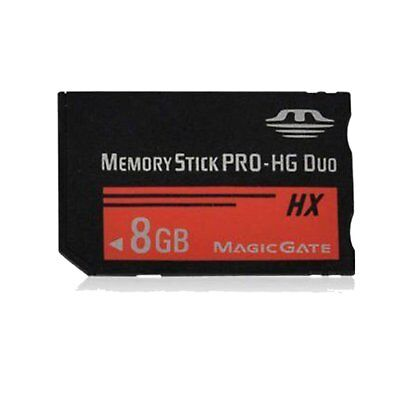 8GB MS Memory Stick PRO-HG Duo Media MagicGate Card For Sony PSP1000 2000 3000