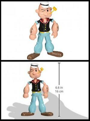 NJ Croce Popeye Bendable Toy Action Figure Doll Collection Ideal Gift Toys New