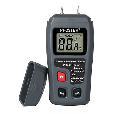 Digital Moisture Detector Damp Meter Humidity Tester Wood Wall LCD Wood Concrete