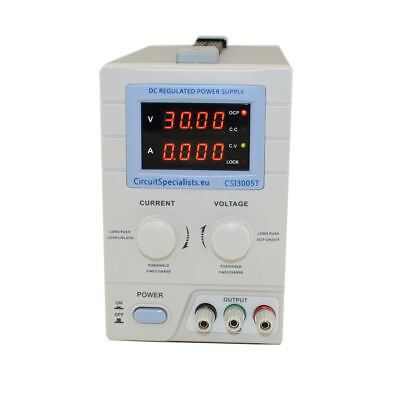 Adjustable DC Linear Bench Power Supply 4 Digit Display 0-30V 0-5A CSI 3005T