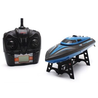 Skytech H100 Racing RC Toys 2.4GHz 4 Channel High Speed Boat+LCD Screen Boy Gift