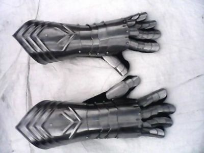 Medieval Armour steel gloves gauntlet ancient armour gothic glovle