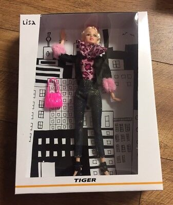Blonde 'Lisa' Tiger Doll - Full Outfit And Accessories - 12 Inch