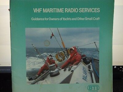 Vhf Maritime Radio Services Book