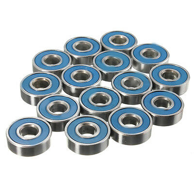 AS_ 20X ABEC 9 Durable Less Friction Carbon Steel Skateboard Wheel Bearings Sera