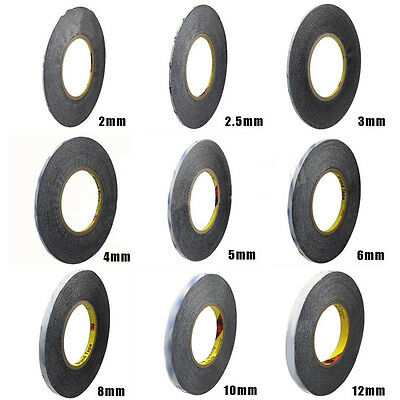 AS_ Double Adhesive Sided Tape 3M 9448A Glue For Cellphone Repair 1mm-5mm Wide Q
