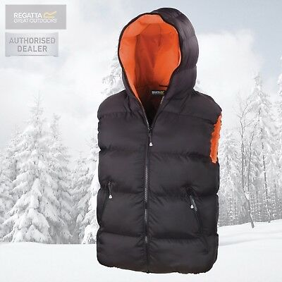 Regatta Mens X-Pro Professional Waterproof Insulated Hooded Bodywarmer Gilet