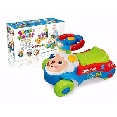 3 IN 1 Baby Walker / Ride-on Car / Shape Sorter