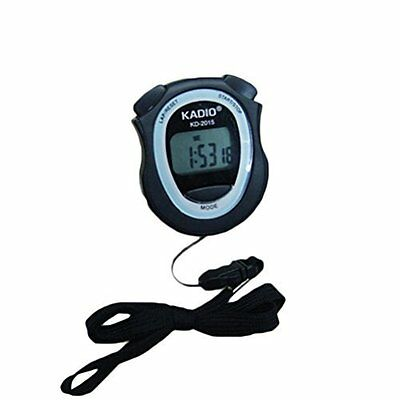 10X Digital Handheld Sports Stopwatch Stop Watch Digital Timer Alarm Lap/Rest