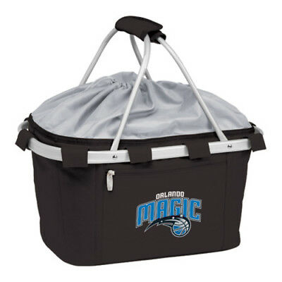 Picnic Time Unisex  Metro Basket Orlando Magic Print Black Size OSFA