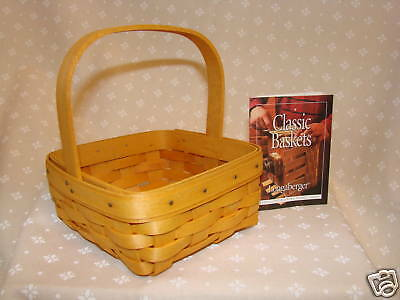 HOSTESS Only TARRAGON Booking Collection Basket Longaberger *NEW*