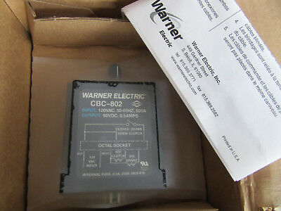 Warner 6002-448-001 Relay CBC-802 NEW!!! in Factory Packaging Free Shipping