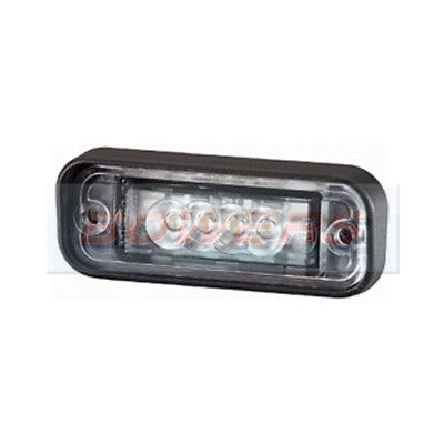 Hella 2Ka010278011 Led Number Plate Lamp License Plate Light 24V 24 Volt