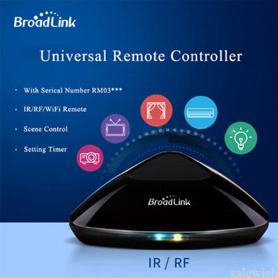 Broadlink RM2 Pro Smart Wireless RF WiFi/IR Remote Control Switch Automation IOS