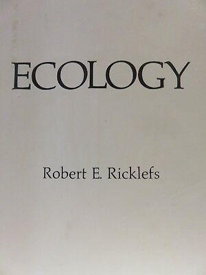 Ecology by Robert E. Ricklefs