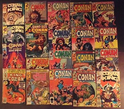 Conan The Barbarian, Red Sonja..lot of 20 Marvel Comics