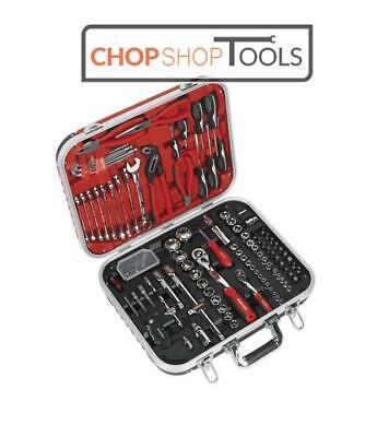 Sealey 136 Piece Mechanics Complete Tool Kit Set In Toolbox Case AK7980