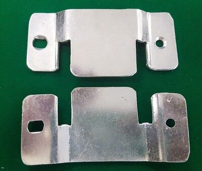Heavy duty Flush Mount Headboard Hanging wall interlocking Brackets FREEPOST