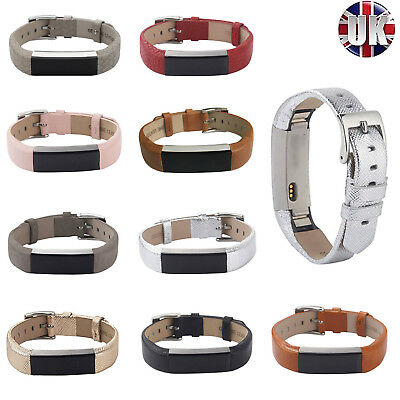 Fitbit Alta Strap Leather Wrist Band For Alta HR Adjustable Replacement Bracelet