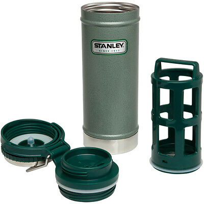 Stanley CLASSIC VACUUM TRAVEL COFFEE PRESS 16 oz / 473 mL STAINLESS STEEL French
