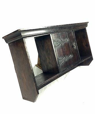 Antique Wall Hanging Cabinet / Shelf / Display Unit Wooden