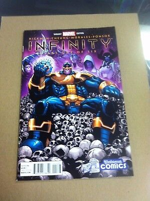 Infinity #1 Yesteryear Ramos variant.First cover appearance of The Black Order.