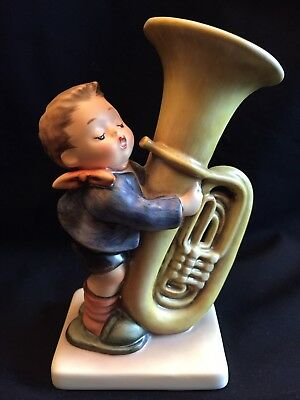 """Hummel """"The Tuba Player"""" Large 6 1/8"""" Figurine in Box.  #437.  Mint."""